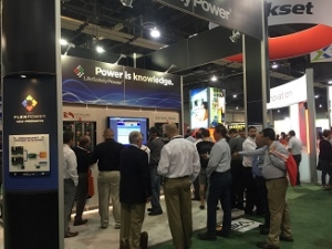 The Power is Knowledge booth was a flurry of activity during ISC West 2016